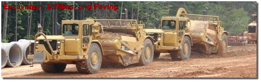 Excavation, Utilities, and Paving